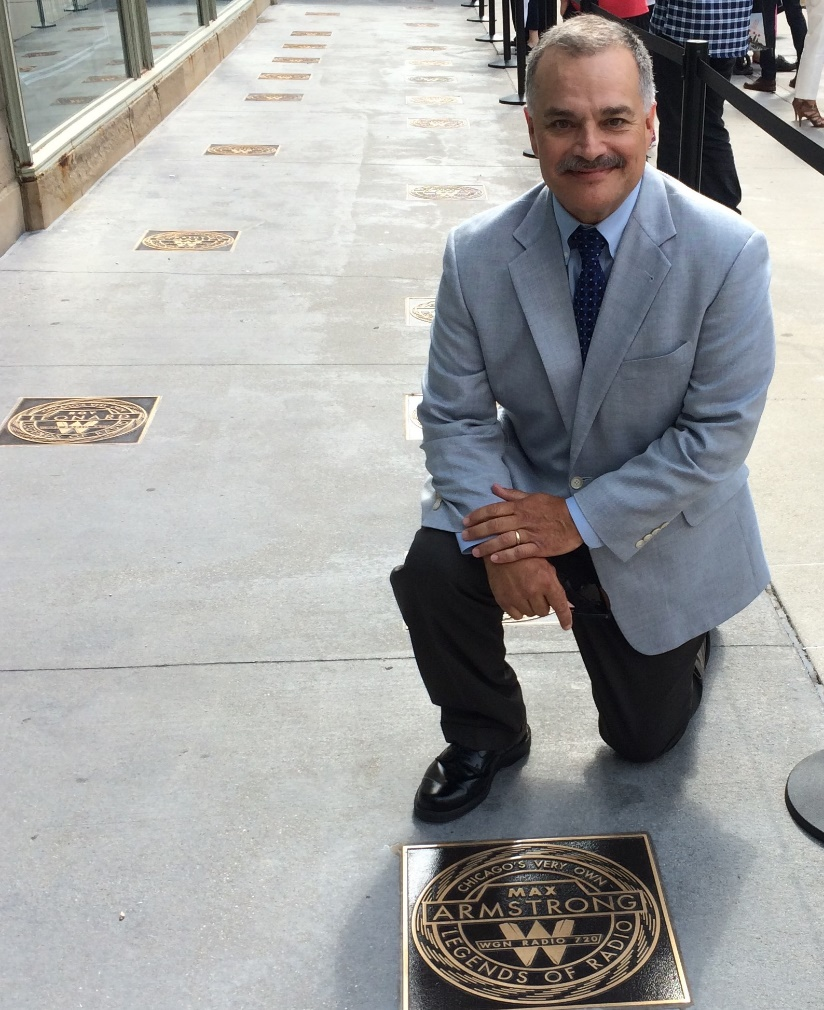 Colorado Students Walk Out Of Vigil This Was Not About: Armstrong Earns Plaque On The WGN Radio Walk Of Fame