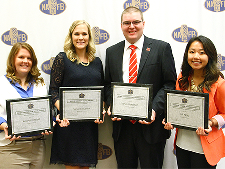 2015 NAFB Foundation Scholarship Recipients