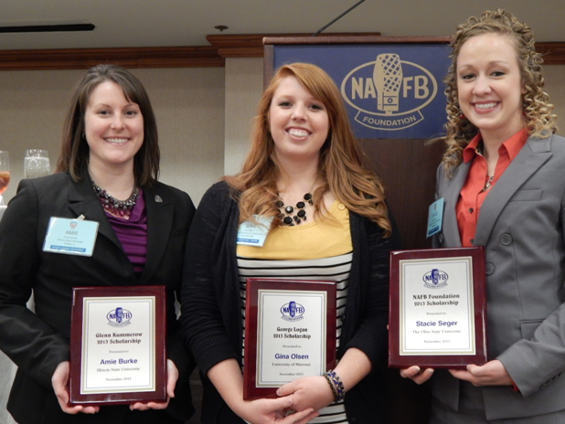 2013 NAFB Foundation Scholarship Winners